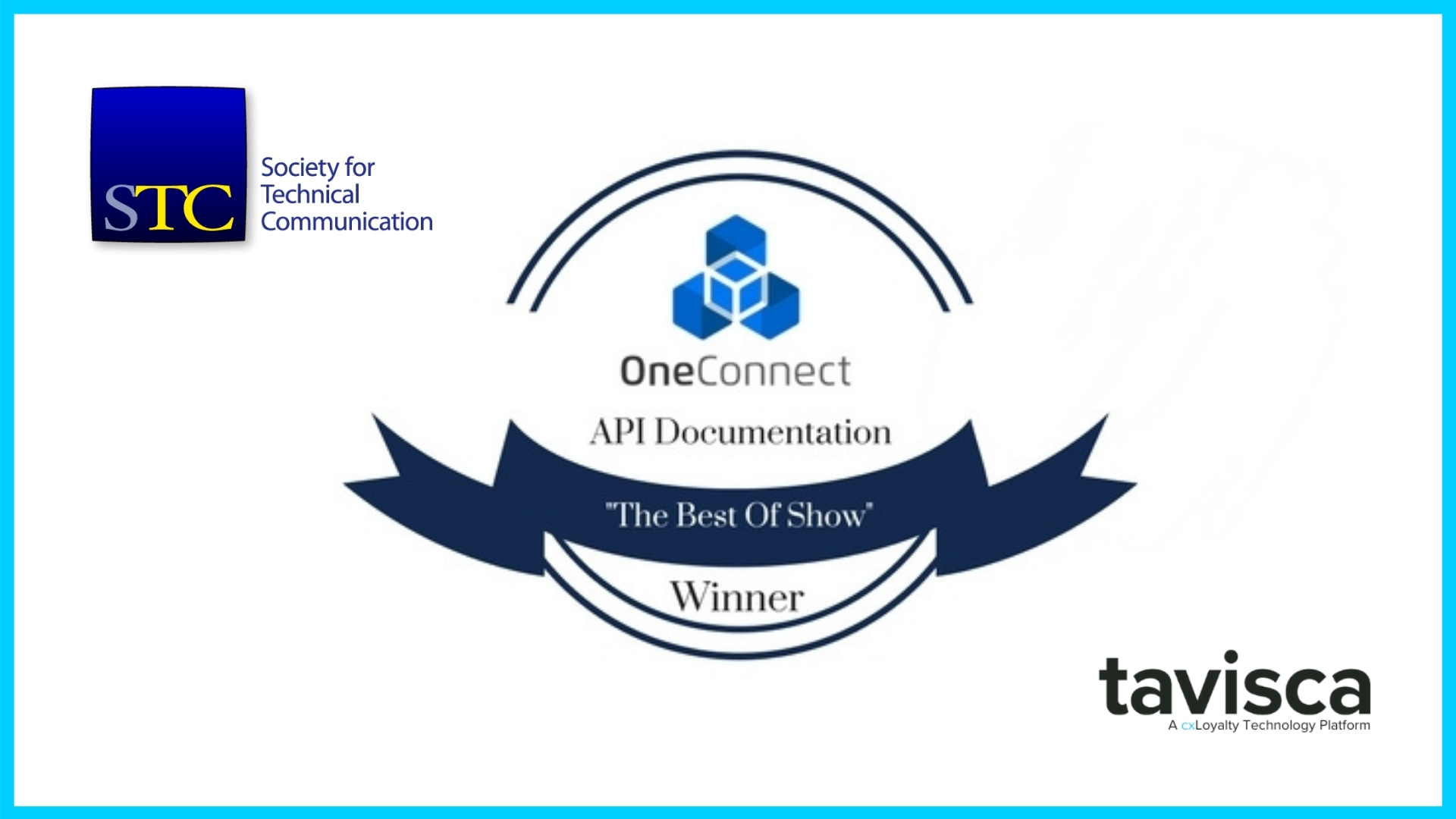 OneConnect's API Documentation Bags the 'Best of Show' Award from the STC