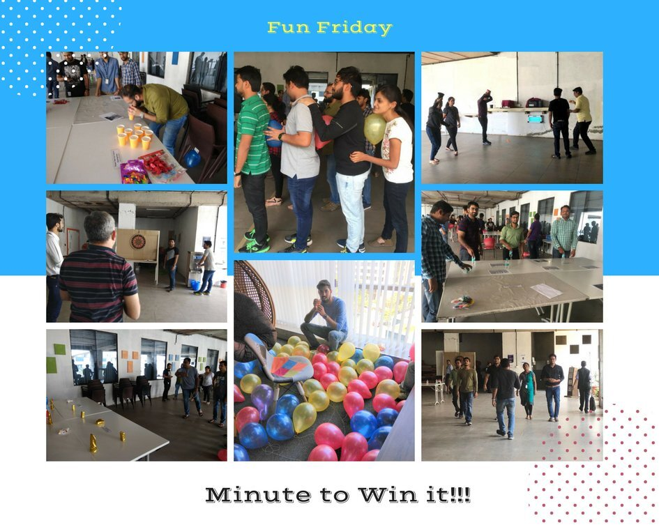 Fun Friday – Minute to Win it !!!