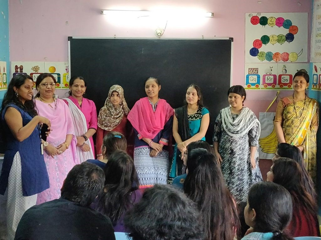 A colourful afternoon with our CSR partner The Little Hands School Yerwada Basti-5