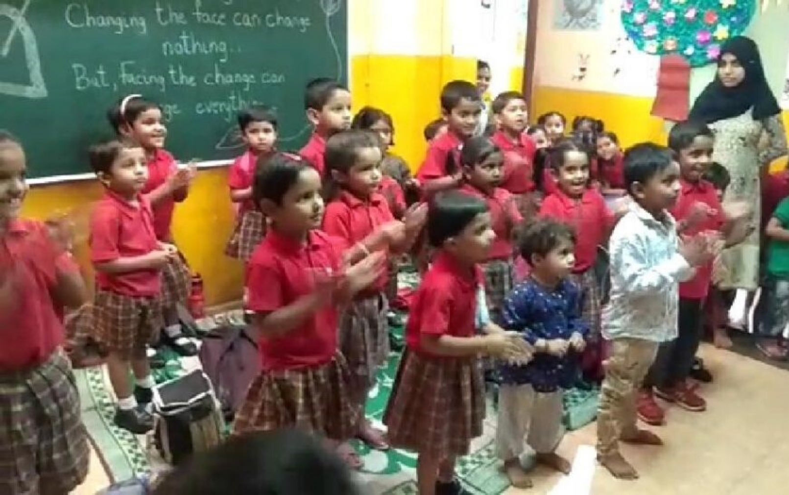A colourful afternoon with our CSR partner: The Little Hands School