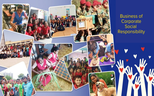 On Our Business of Corporate Social Responsibility