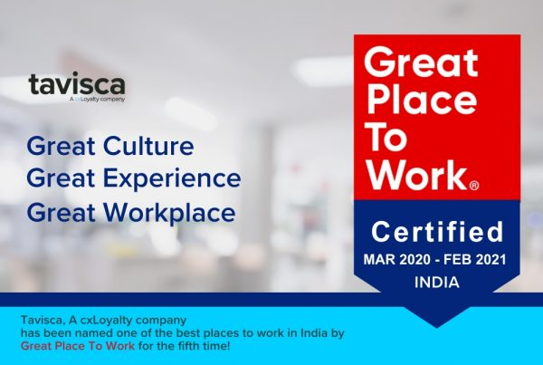 Tavisca Solutions Honored for the Fifth time on the Great Places to Work® List
