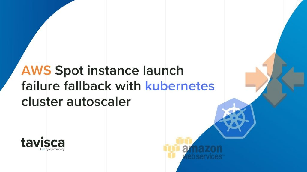 WS Spot instance launch failure fallback with kubernetes cluster autoscalers,