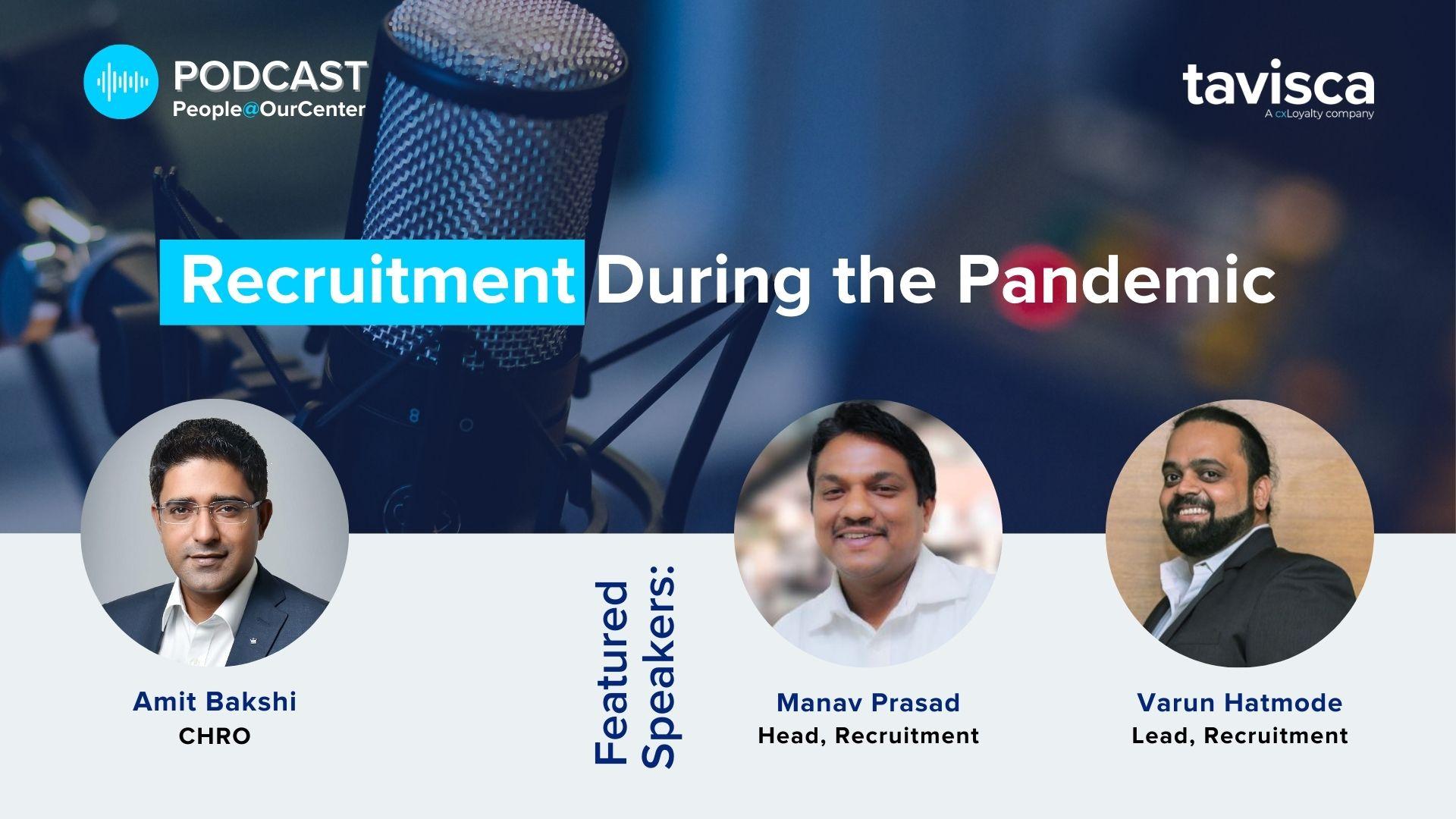 Recruitment During Pandemic