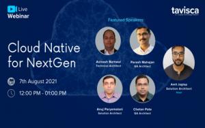Webinar – Cloud native For NextGen