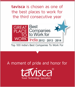 tavisca is chosen as one of the best places to work for the third consecutive year - Top 100 India's Best Companies To Work For