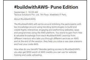 BuildwithAWS-tavisca-meetup